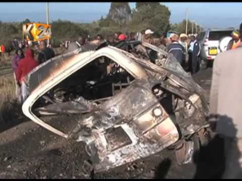 Naivasha Accident :  33 fatalities, 6 injured after Canter rams into 13 vehicles