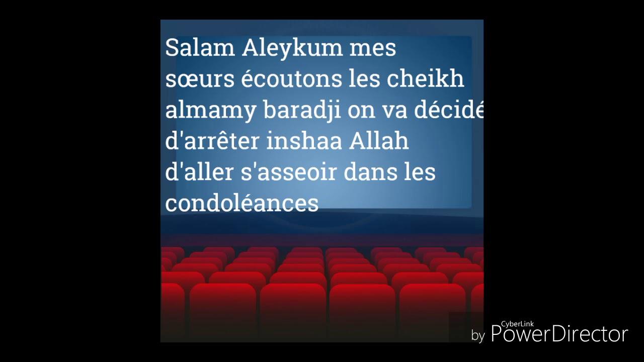 Cheikh Almamy Baradji Quallah Le Preserve Merci Mon Frère