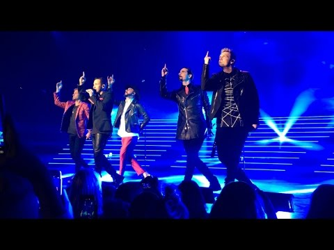 SHAPE OF MY HEART BACKSTREET BOYS LAS VEGAS 3/3/2017