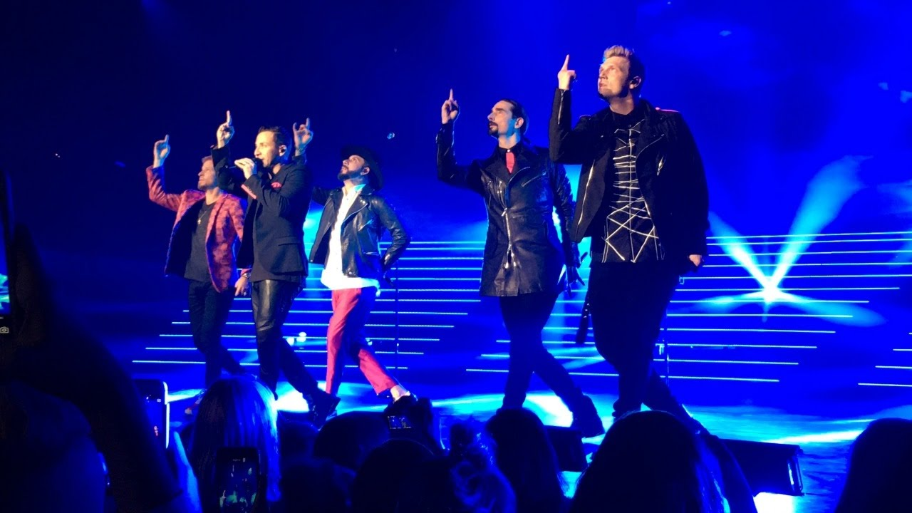 shape of my heart backstreet boys las vegas 3  3  2017