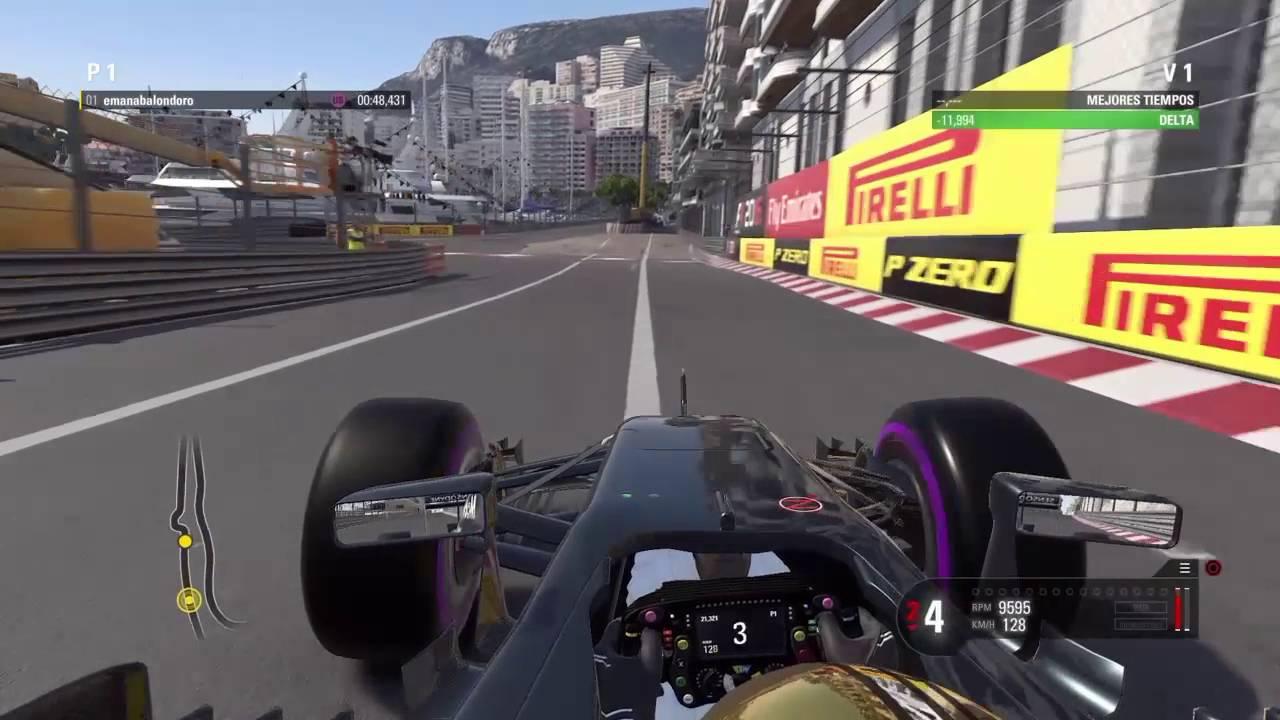 Circuito Monaco : F vuelta al circuito de monaco sin ayudas youtube