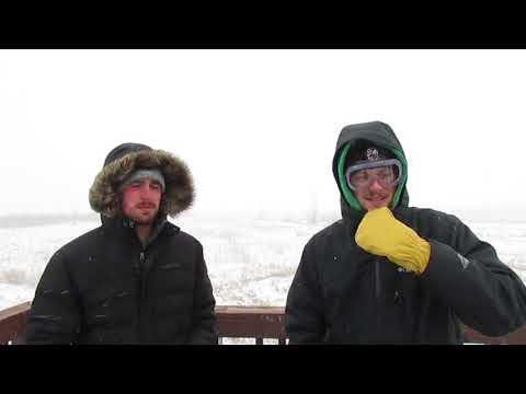 Winter Storm Jaden, Grand Forks, ND 1/27/19