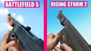 Battlefield 5 Gun Sounds vs Rising Storm 2 Vietnam