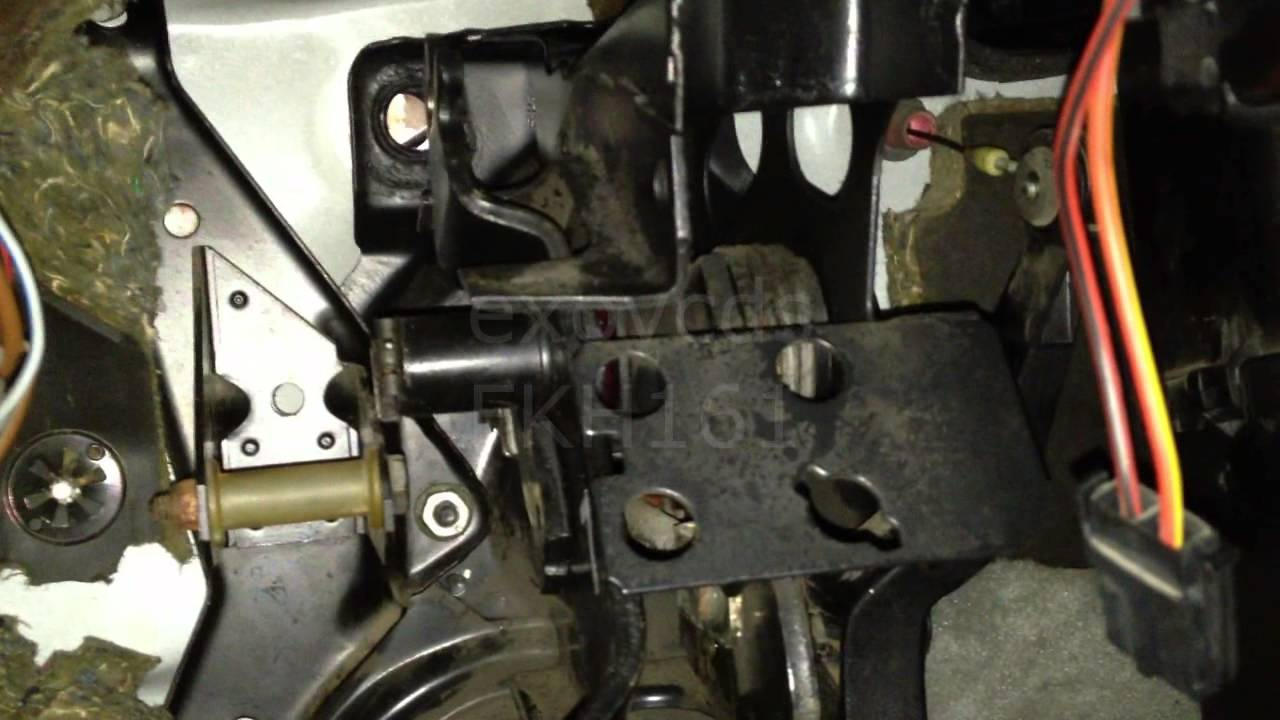 Vw A2 Pedal Cluster Removing Youtube