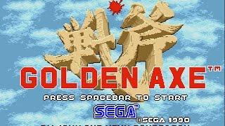 Golden Axe (PC/DOS) Arcade-Story mode, 1990, SEGA