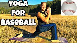 Yoga for Baseball and Softball - Sean Vigue Fitness - Yoga for Sports Series