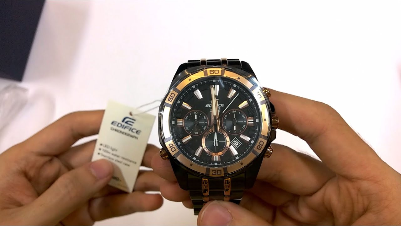 Review Amp Unboxing For Casio Edifice Watch Efr520sp1avef Efr 538d 1av 547l Night Demo