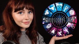 [ASMR] Binaural Whispering Horoscopes 2019