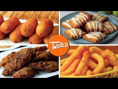 10 Tasty Deep Fried Food Recipes | Twisted