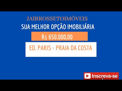 Jair Rosseto Imóveis - Ed. Paris - Praia Da Costa