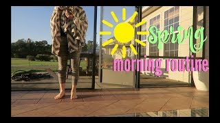 SPRING MORNING ROUTINE | FAMILY OF 5