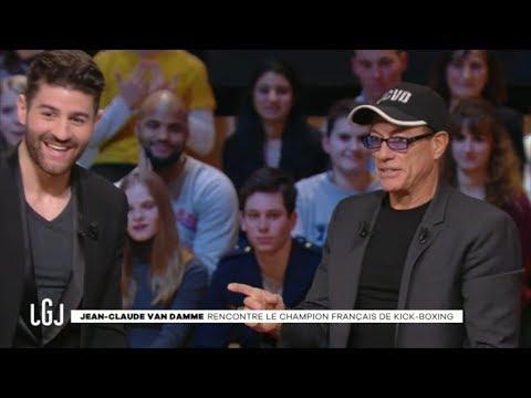 Jean-Claude Van Damme rencontre Cyril Benzaquen - LGJ