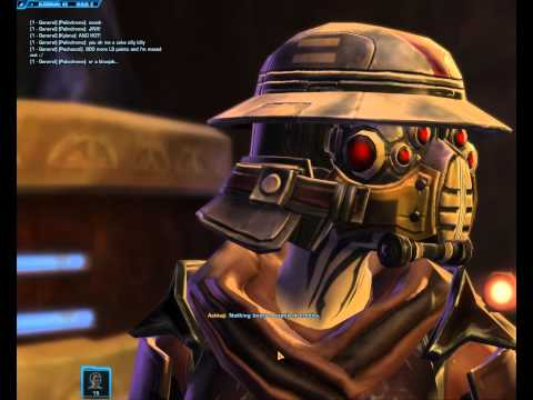 Why I love SWTORBeing a Bounty Hunter