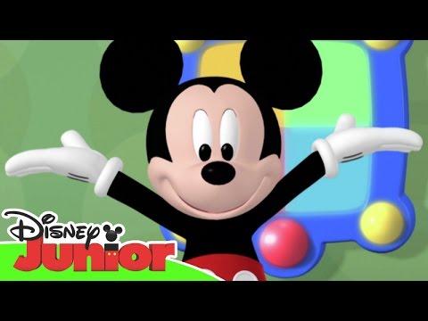 Disney junior espa a la casa de mickey mouse en bus - La mickey danza ...