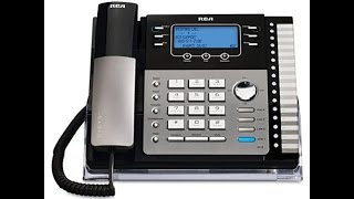 New RCA Business Telephone On The Intercom System