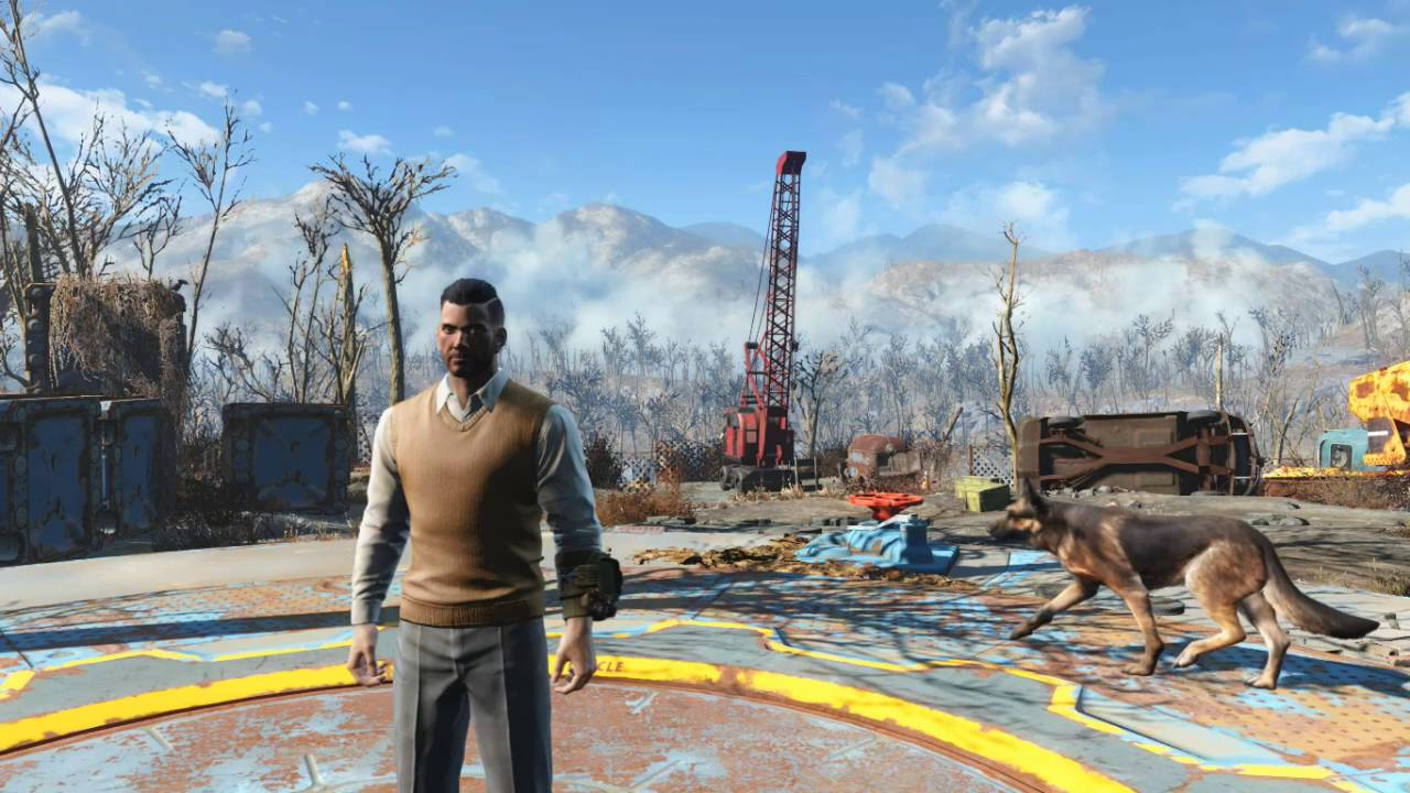 Covert Sweater Vest Outfit Fallout 4 - YouTube