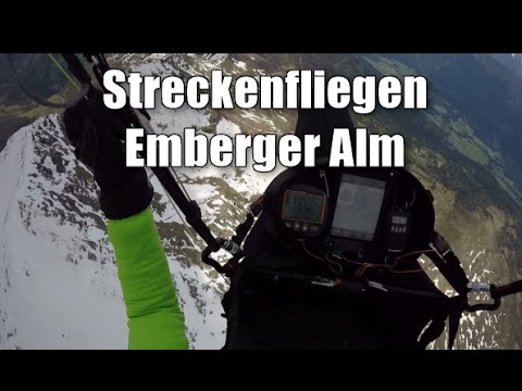 Streckenfliegen an der Emberger Alm - Standard-Aufgabe