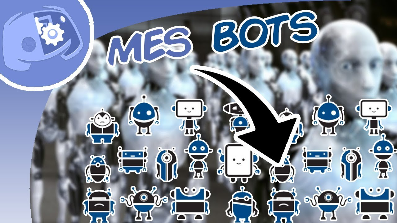 Discord | TOP 6 des BOTS - YouTube