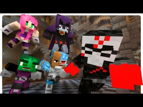 Minecraft Teen Titans vs Red X! Slade Returns [Ep.6 Minecraft Roleplay] Nightway Plays Minecraft