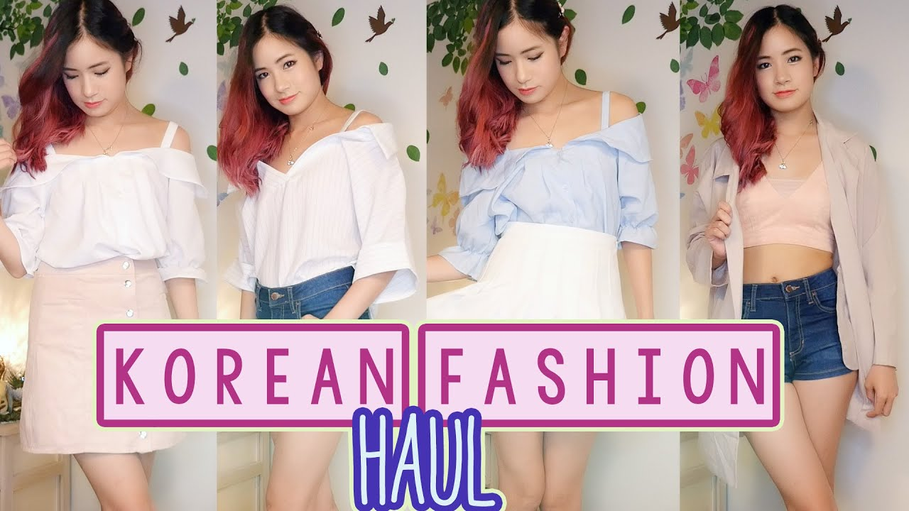 Korean Clothing Haul Korea Shopping Haul Korean