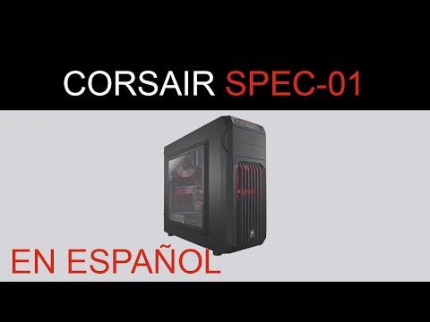 Corsair Carbide Spec-01 Rojo En Español - Cajas PC Gaming