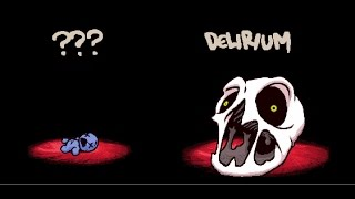 Isaac Afterbirth+ Blue baby vs Hush and Delirium