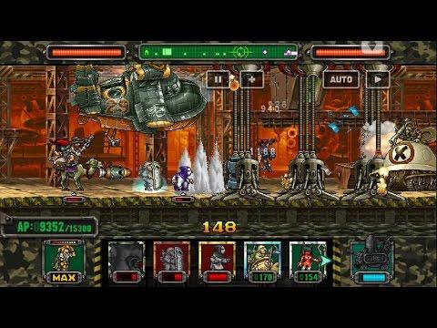 [HD]Metal slug ATTACK. ONLINE!  NEW UNIT APPEAR  !!! (2.4.0 ver)