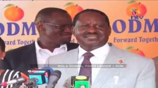 Raila tells president Kenyatta to focus on Jubilee matters