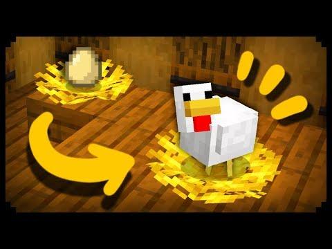 ✔ Making a Working Chicken Nest in Minecraft