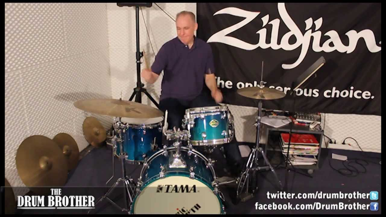 Amazing Drum Solo from hands technique master Bruce Becker - YouTube