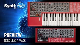 Nord Lead 4 Leads Pack by Leadsounds  Space4Keys Keyboard Solo