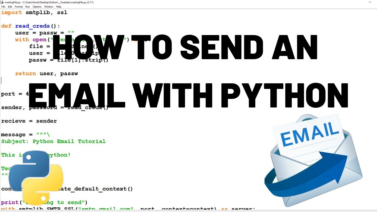 How to Send Emails - Sending Emails with Python