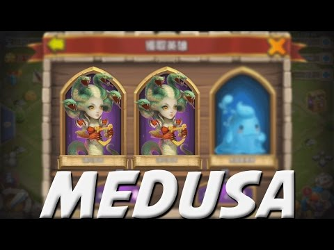 Castle Clash Rolling F2P Gems For Medusa
