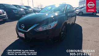 2018 Nissan Altima SV Review at Cobourg Nissan