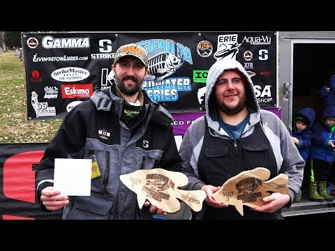 Ice Fishing Tournament 2019 ( 3rd PLACE!!! ) - Lake Arthur - Western Pennsylvania Hardwater Series