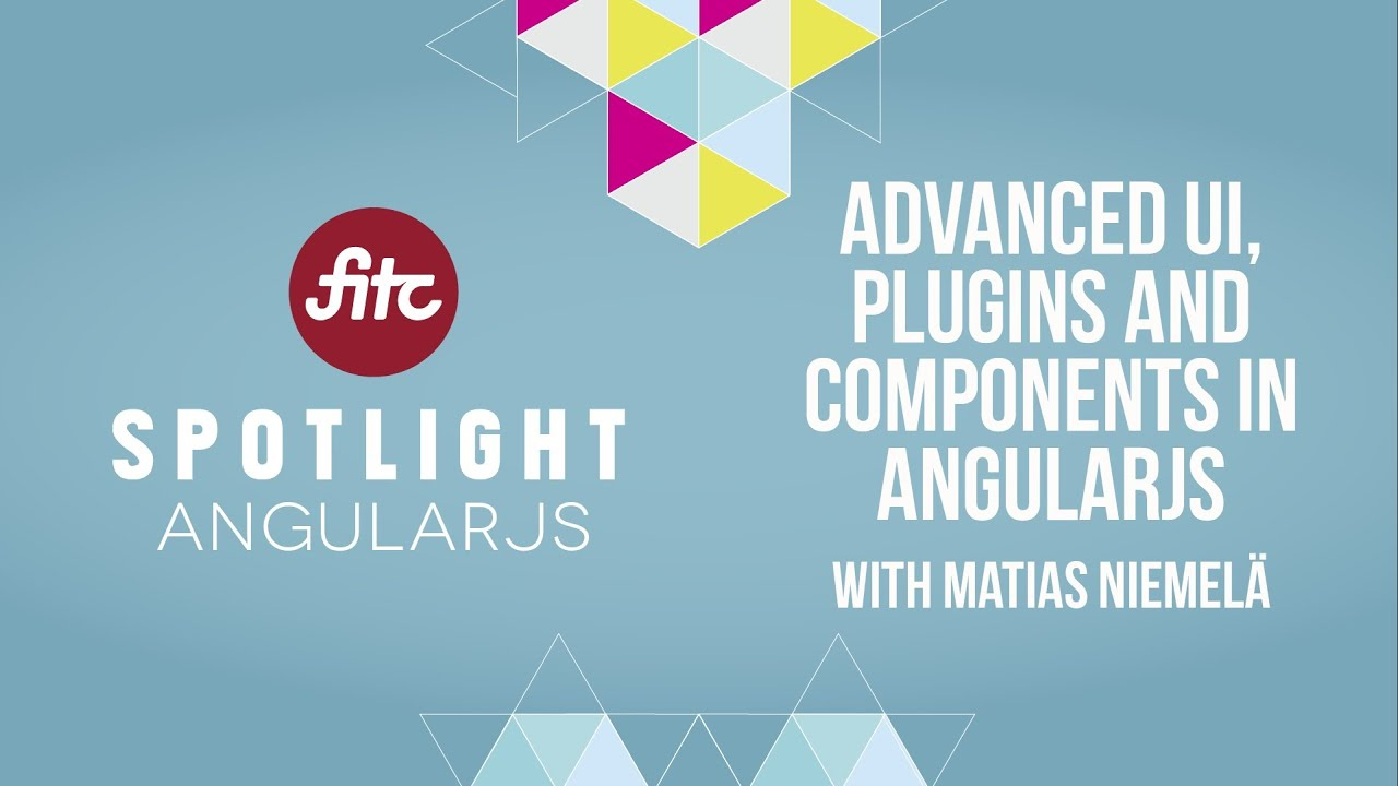 advanced ui plugins and components in angularjs