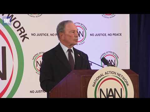 Bloomberg Speaks At Breakfast Honoring Martin Luther King Jr Day