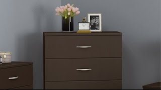 South Shore Step One Collection 5 Drawer Chest - 5 Drawer Dresser Chocolate On Sale
