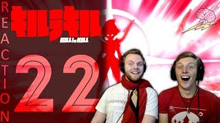 SOS Bros React - Kill La Kill Episode 22 - Croquettes and Tea!!