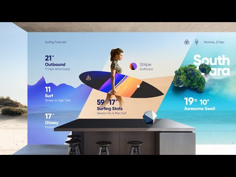 #10 Interaction Concepts (Cool) - Web Design Trends 2018