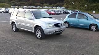 Видео-тест автомобиля Suzuki Grand Escudo (Tx92w-100810 2001г)