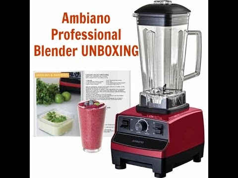 Ambiano Professional Blender Unboxing  YouTube