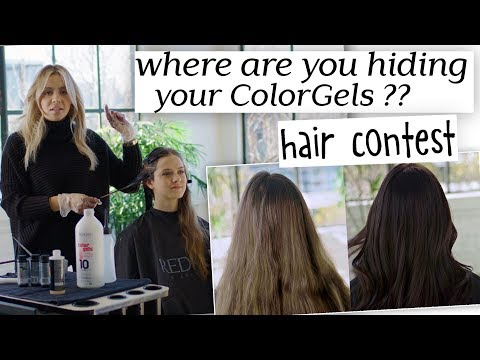 Where are YOU hiding YOUR Color Gels?? - Redken Hair Contest