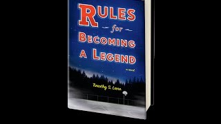 RULES FOR BECOMING A LEGEND: A Novel - Book Trailer Thumbnail