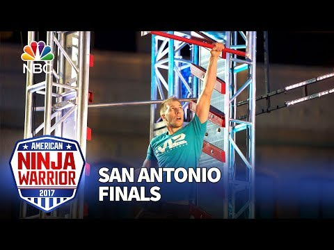 Kenny Niemitalo at the San Antonio City Finals - American Ninja Warrior 2017