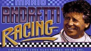 CGRundertow MARIO ANDRETTI RACING for Sega Genesis Video Game Review