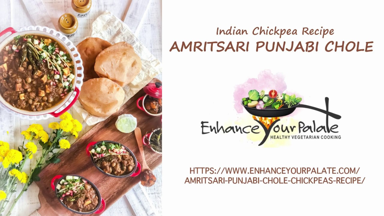 Amritsari Punjabi Chole without Onion Garlic - Enhance Your