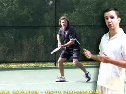 Tennis Forehand - Forehand Step 1 - Pivot and Shoulder Turn
