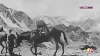 Первые  альпенисты Киргизии и Казахстана