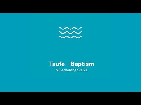 Taufe September 2021